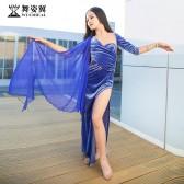 舞姿翼儿童肚皮舞裙练功服套装2019新款丝绒套装RT508