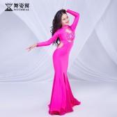 舞姿翼儿童肚皮舞裙表演服装2019新款袍子儿童演出服套装RT513