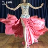 舞姿翼肚皮舞演出服2018新款套装 表演服东方舞QC2978