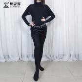 舞姿翼成人肚皮舞裙练功服套装2019新款丝绒连套装QC2807-2