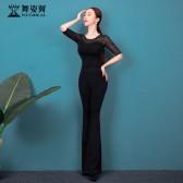 舞姿翼修身形体衣礼仪服2021新款训练走秀肚皮舞练功服舞蹈套装XT720
