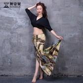 舞姿翼成人肚皮舞裙练功服套装2021新款套装QC3202